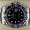 Rolex GMT Master Batman 116710BLNR
