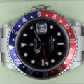 Rolex GMT-Master II Z9 3186 Rectangular Dial Unpolished